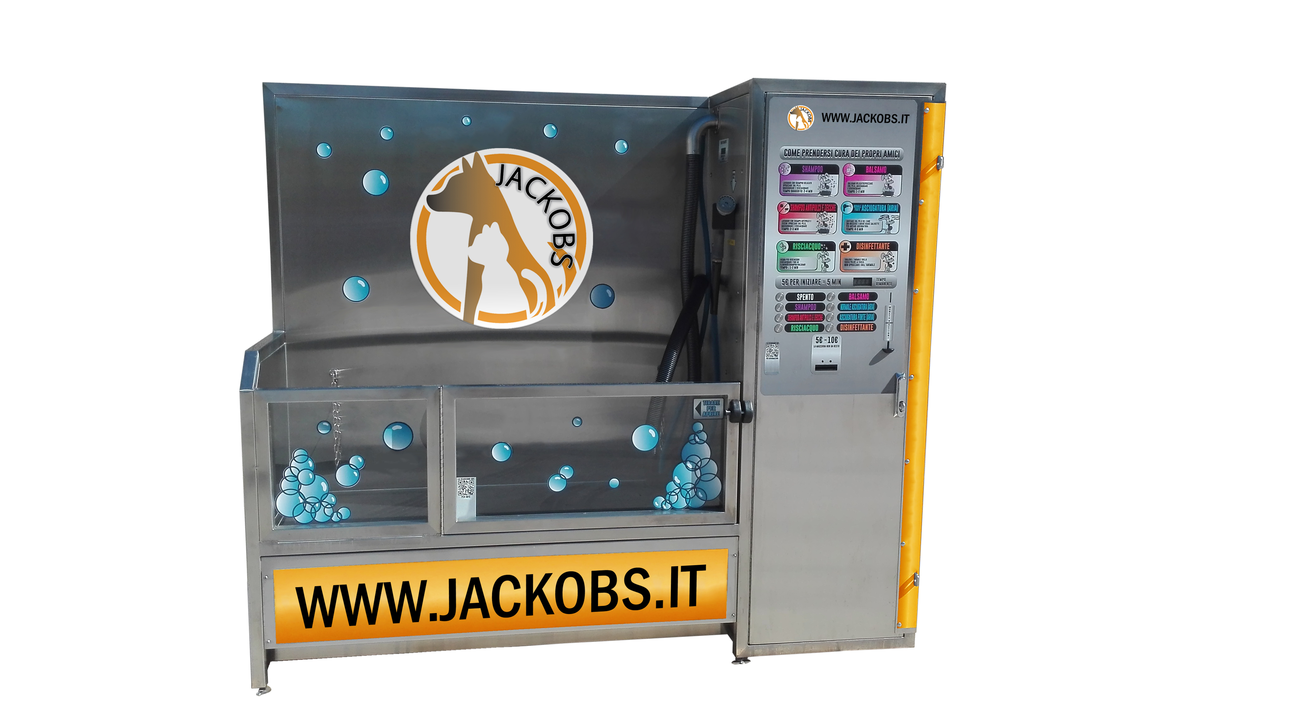 Vasca Da Toelettatura : Prodotti jackobs evolution dog wash lavaggio self service